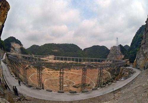 行业前沿 | 探秘贵州世界最大口径望远镜FAST安装