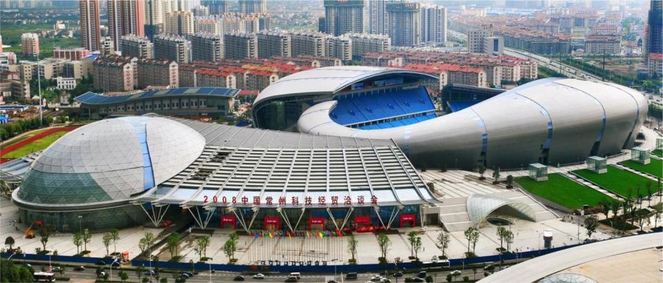 常州奥体中心网球场_常州奥体中心 - 商业场馆标识 - 深圳市自由美标识有限公司