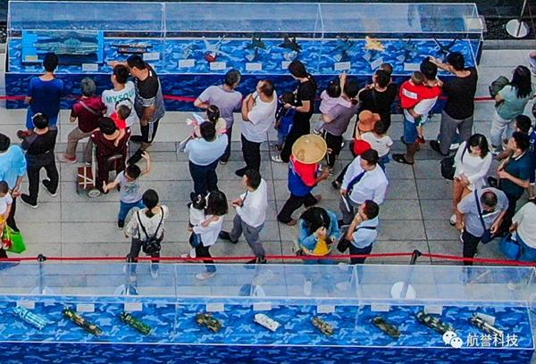 """济宁首届国防兵器展启幕 众多装备掀起""""航空热"""""""