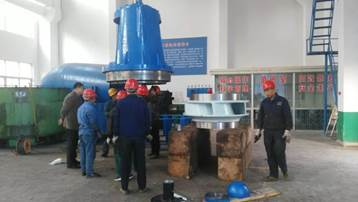 連成集團陜西抽黃項目用泵1200SLL-60的研發制造