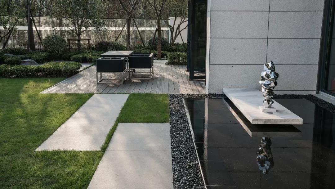 张老板两栋别墅新中式庭院建造手札