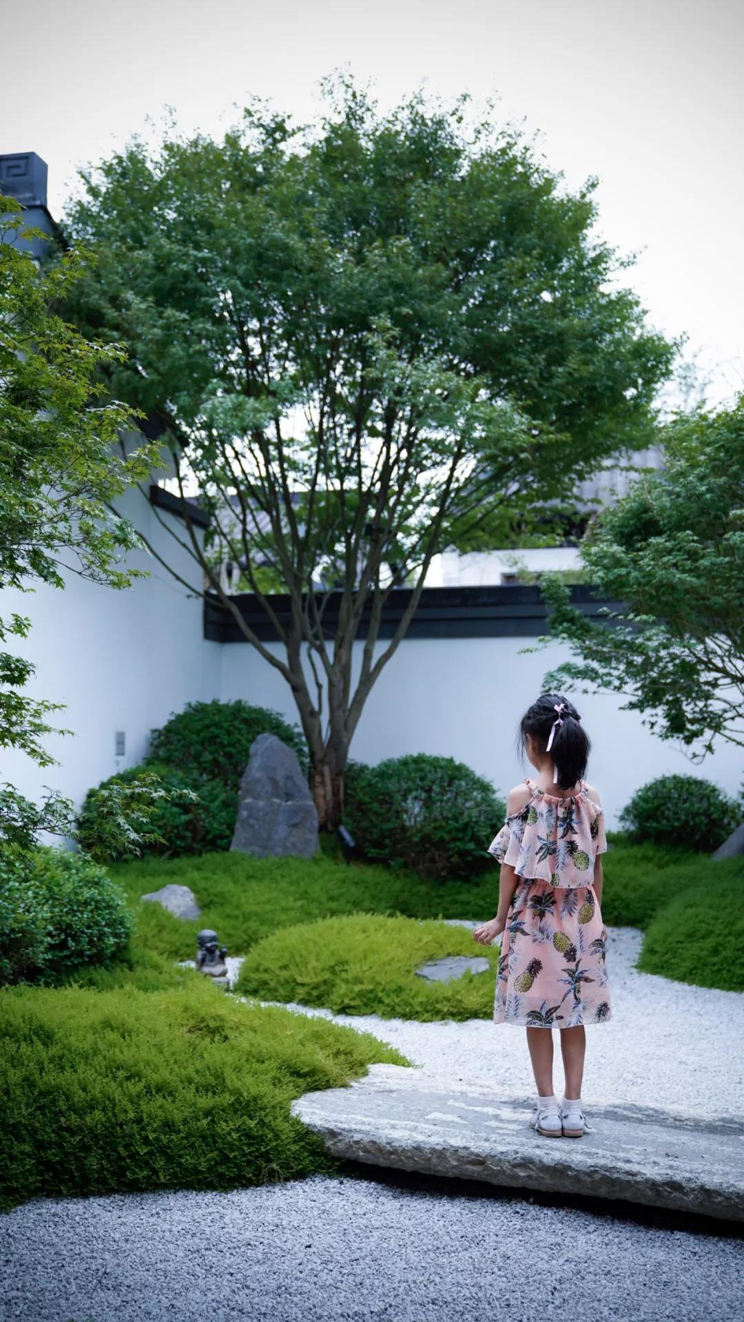 王先生中式别墅庭院设计