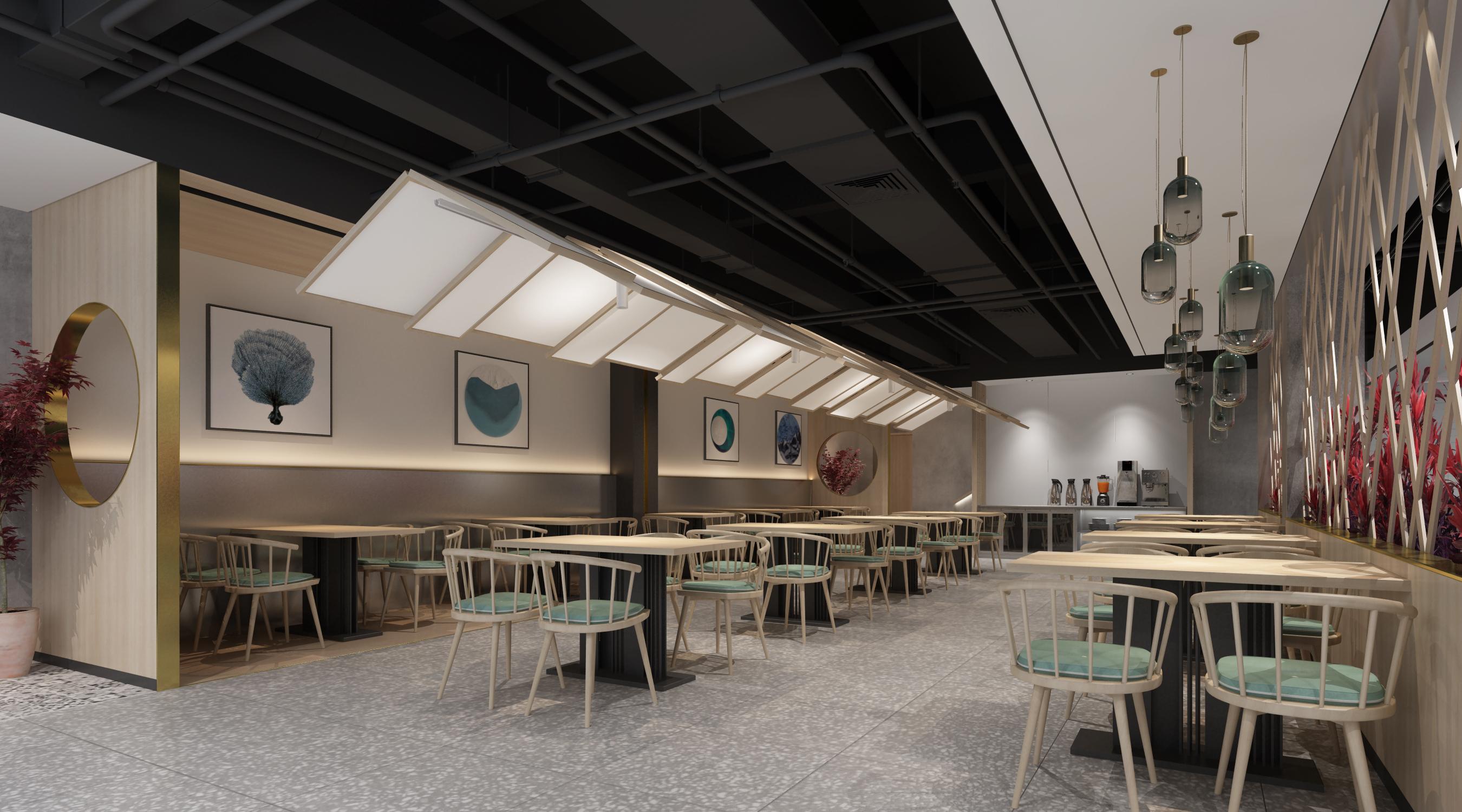 开封诚园餐厅装修设计