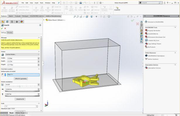 SOLIDWORKS用户使用增材制造的六种基本工具