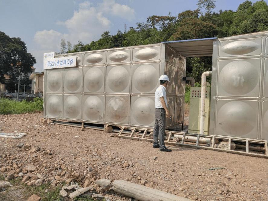 伍玖环保总经理胡志武赴岳麓区污水处理厂提标改造项目 现场开展保质保量督导工作