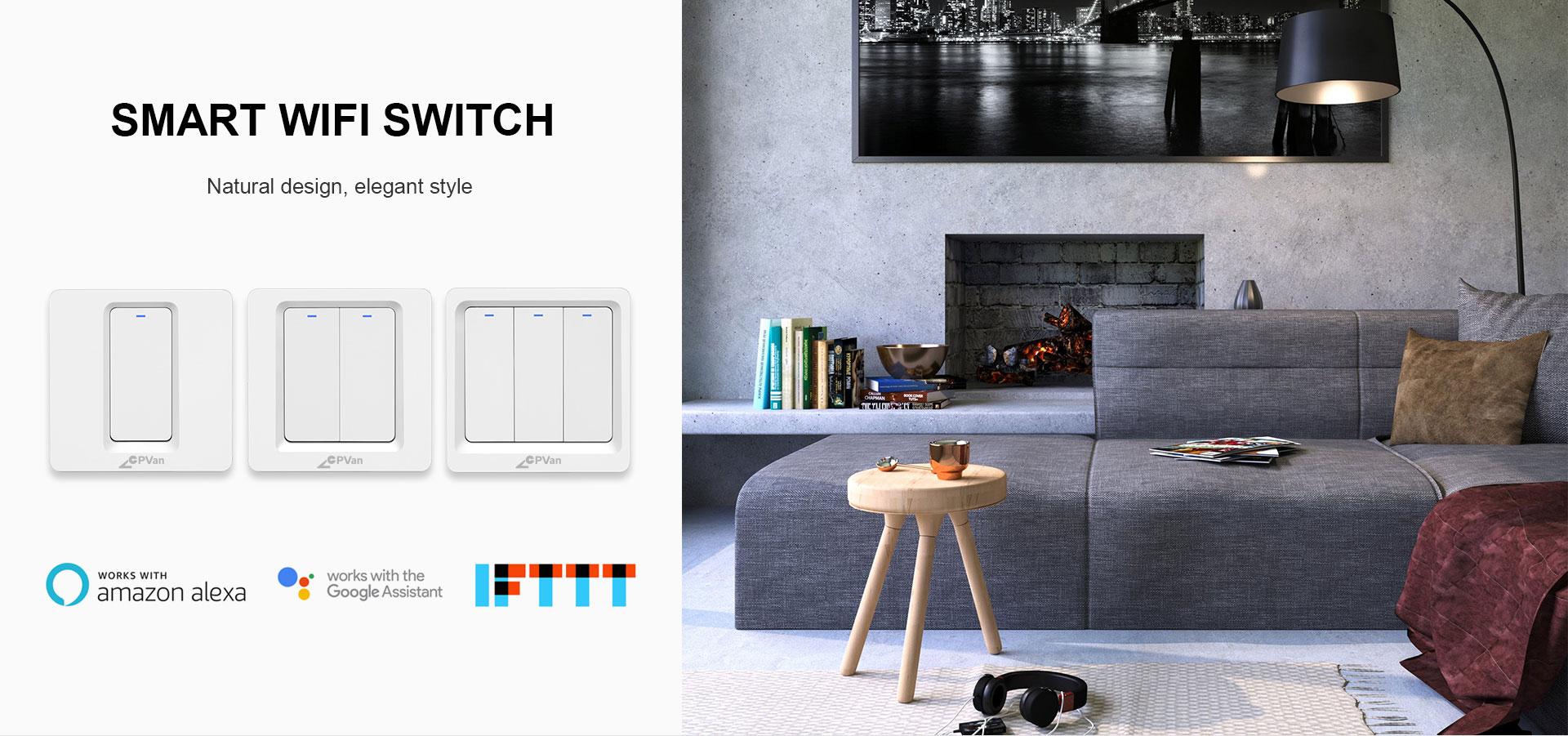 WIFI EU Smart Switch