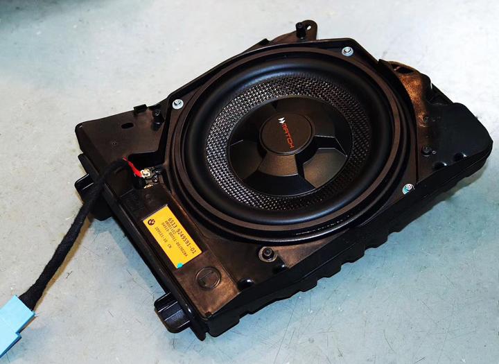 宝马的完美CP:德国MATCH MS 83C-BMW.2三分频套装喇叭