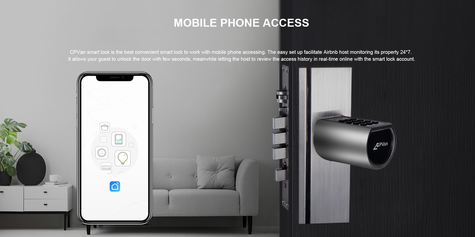 Zigbee Smart Door Lock Cylinder
