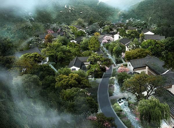 湘湖金融小镇景观方案设计