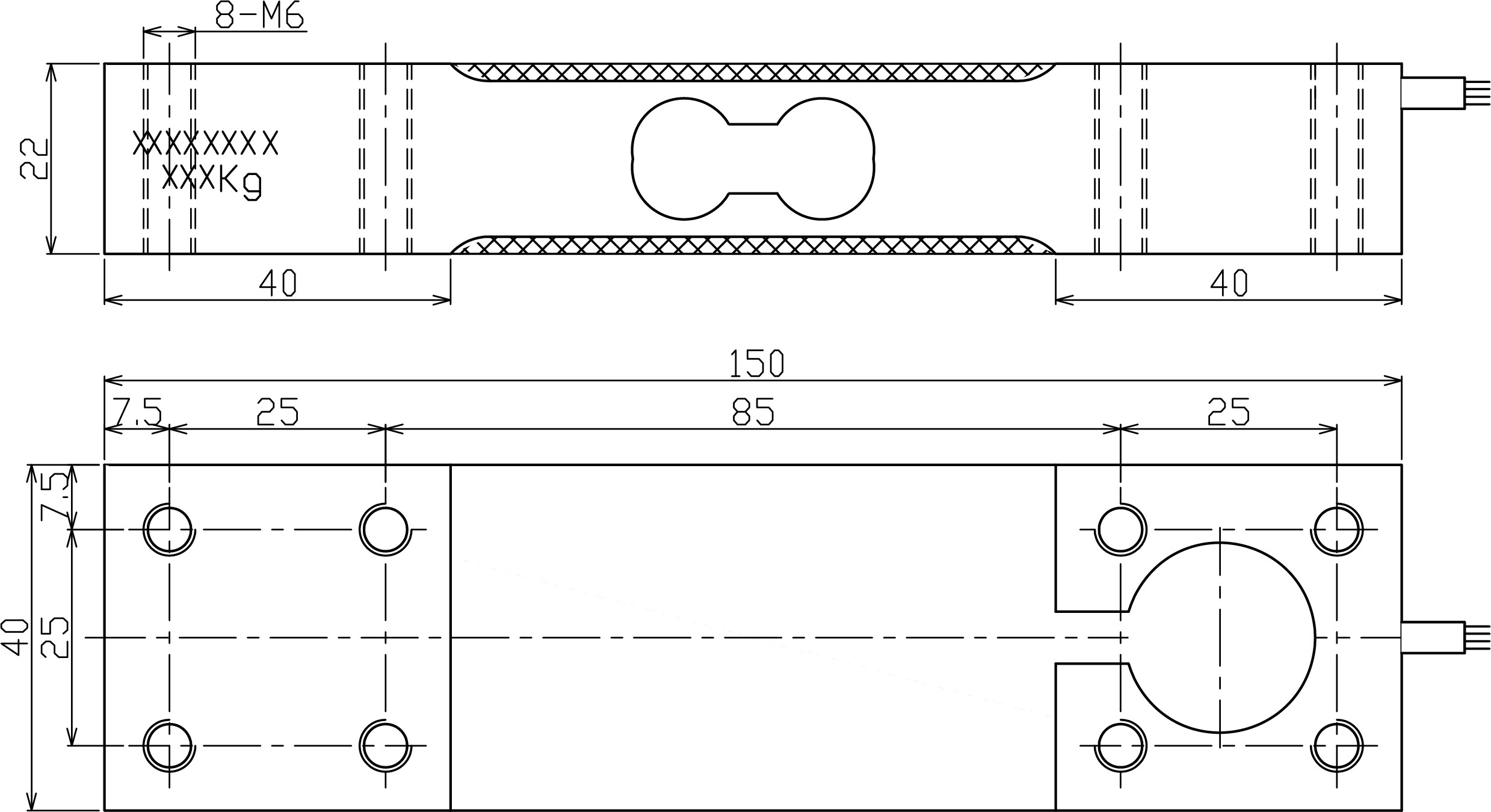 LC1540单点式称重传感器 (型号:LC1540)