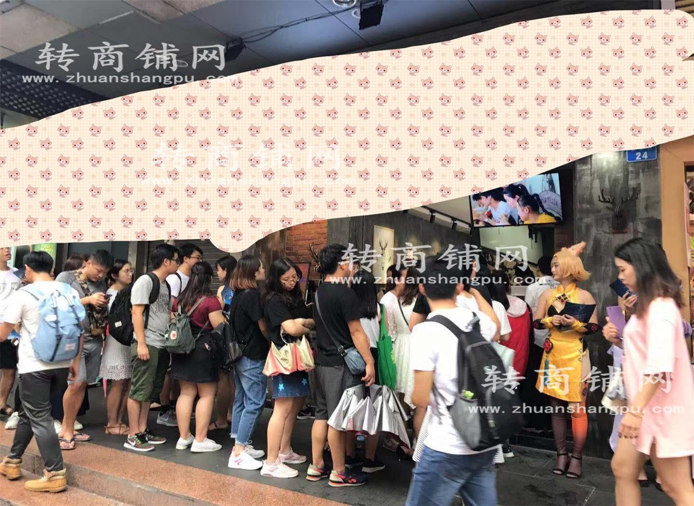 罗湖东门商业街临街奶茶店优价转