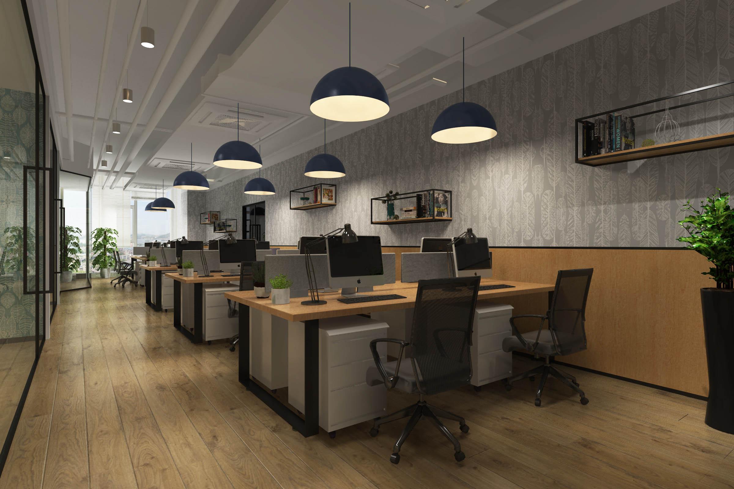 办公空间设计的四大原则 --【设易空间设计】