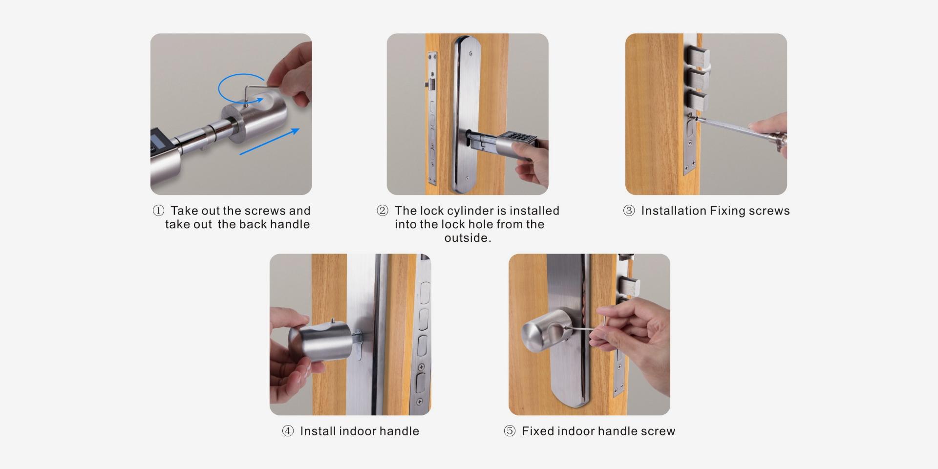Zigbee Smart Door Lock