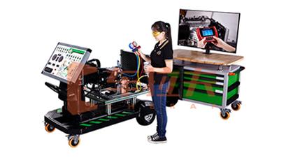 自动空调检测诊断教学竞博JBO系统