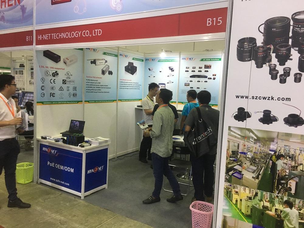 Hi-Net 2019 Secutech Vietnam Show