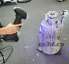 Gearbox 3D scanning