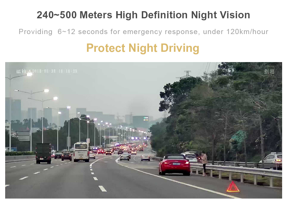 Car ADAS night vision system