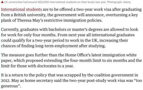 2021年起实施!英国PSW签证历经坎坷终于要复活了!