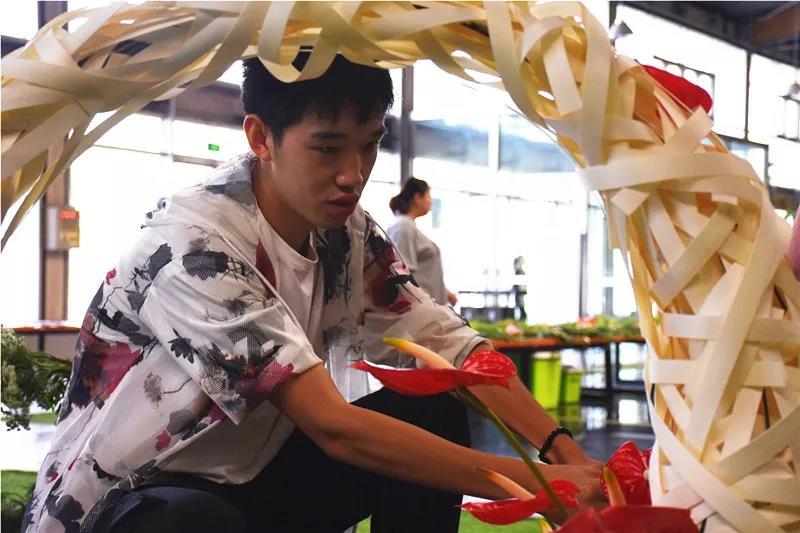 宏图大展·河南省首届红掌插花花艺大赛圆满落幕!