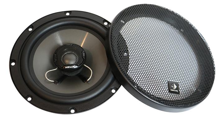 打开汽车音响改装的大门!德国HELIX L 6X入门级同轴喇叭