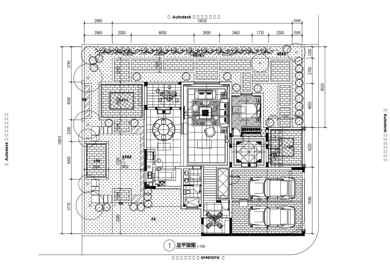 耒阳锦秀山湖王先生独栋别墅花园建造