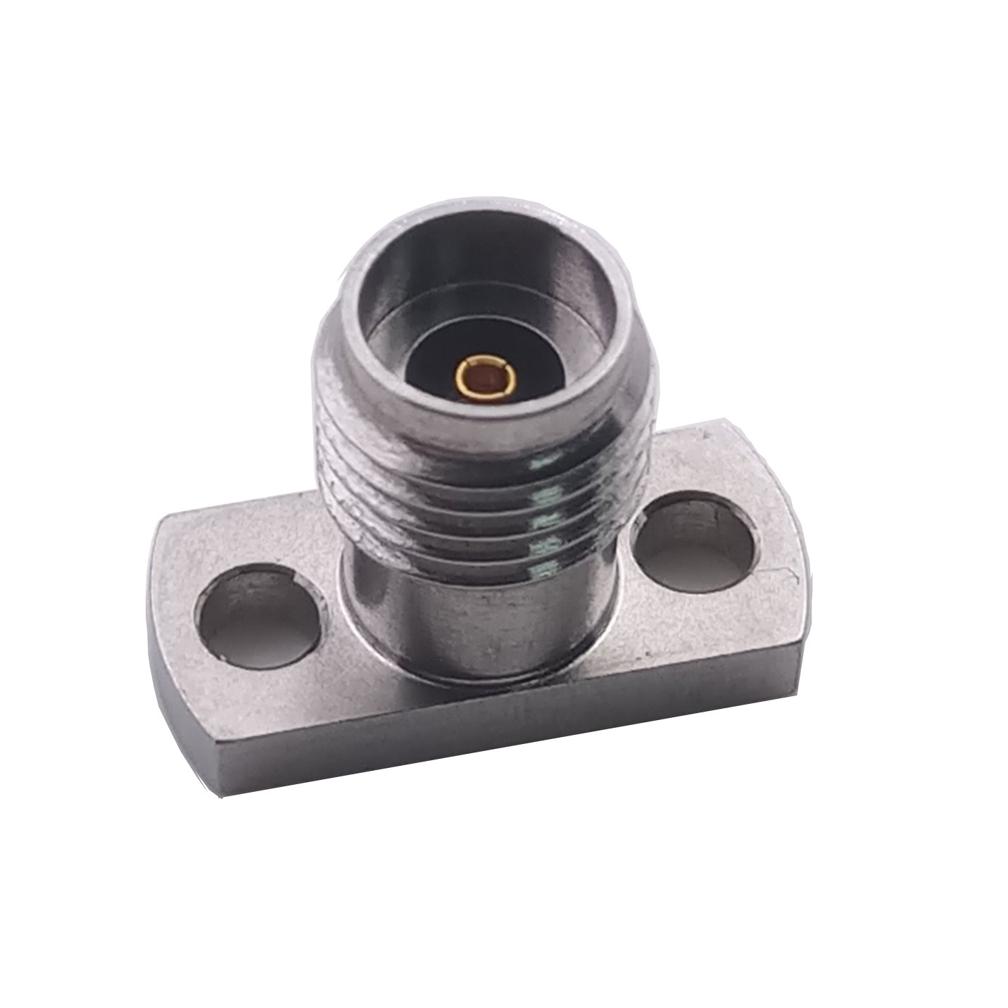 40GHz 2.92mm female connector with flange 2 holes 50Ohms PCB Mounting