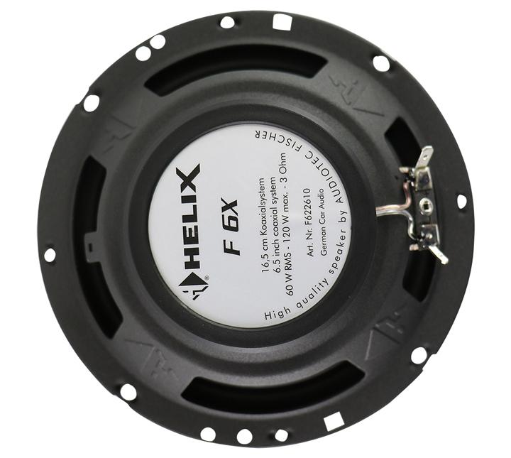 有颜值有内涵!德国HELIX F 6X同轴喇叭  给你舒心愉悦的出行体验