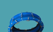 coupling for big size HDPE pipe
