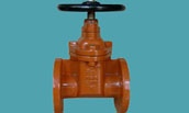 AWWA C509 NRS gate valve type B