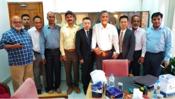 中國應急與孟加拉國簽訂出口合同