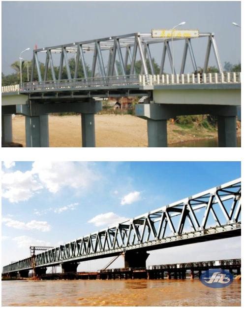 模块化钢桁桥