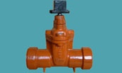 AWWA C509 socket ends for PVC pipe
