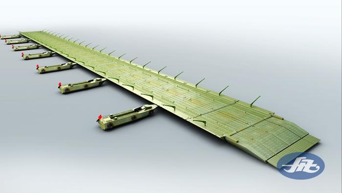 HZFQ60应急带式舟桥