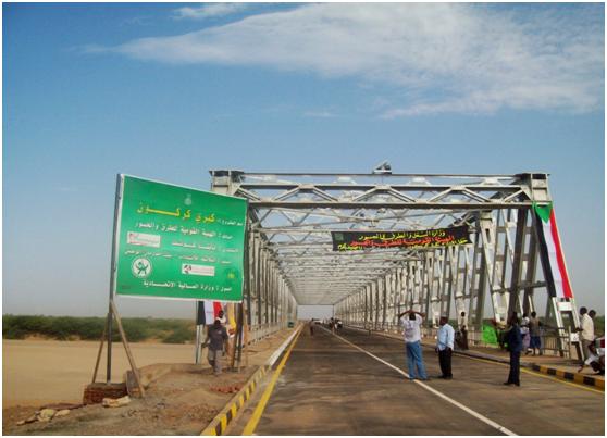 苏丹180米轻桁桥(KARAKON BRIDGE)
