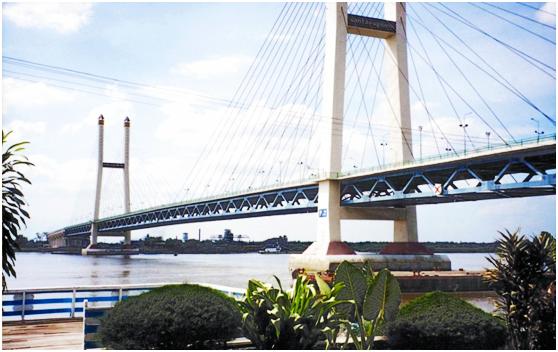 缅甸600米斜拉桥 (INSEIN BRIDGE)