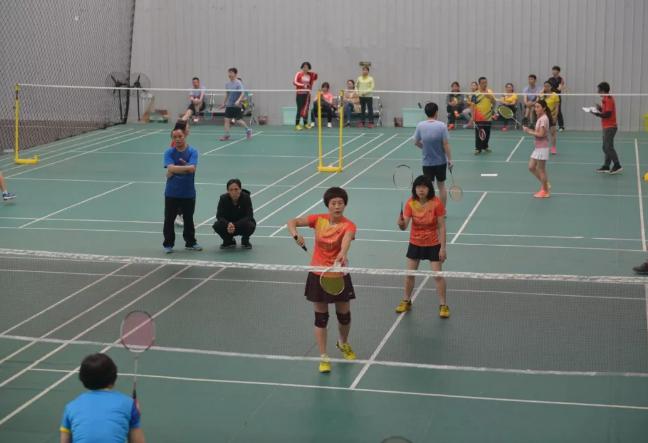 中国应急举办2019年员工羽毛球大赛