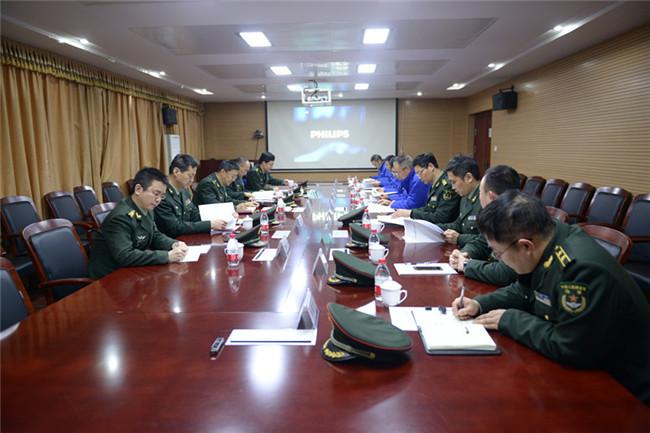 陸軍裝備部首長蒞臨華舟重工檢查指導工作