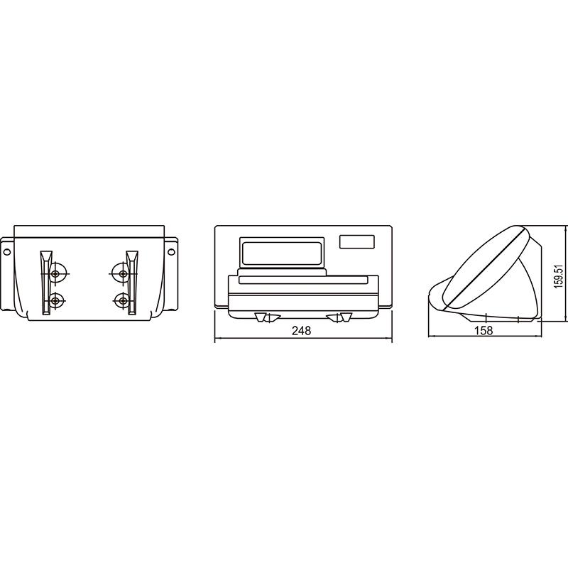 XK3190-A12+E称重仪表 (型号:XK3190-A12+E)