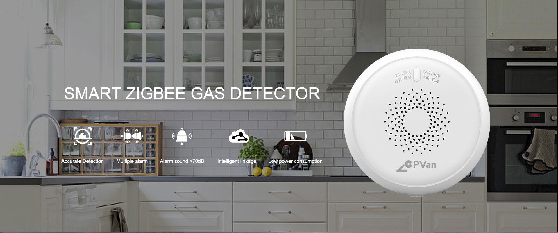 Zigbee Combustible Gas Sensor