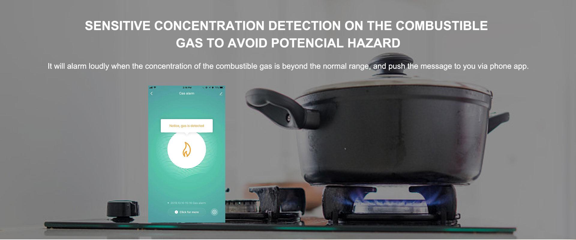 Zigbee Gas Sensor