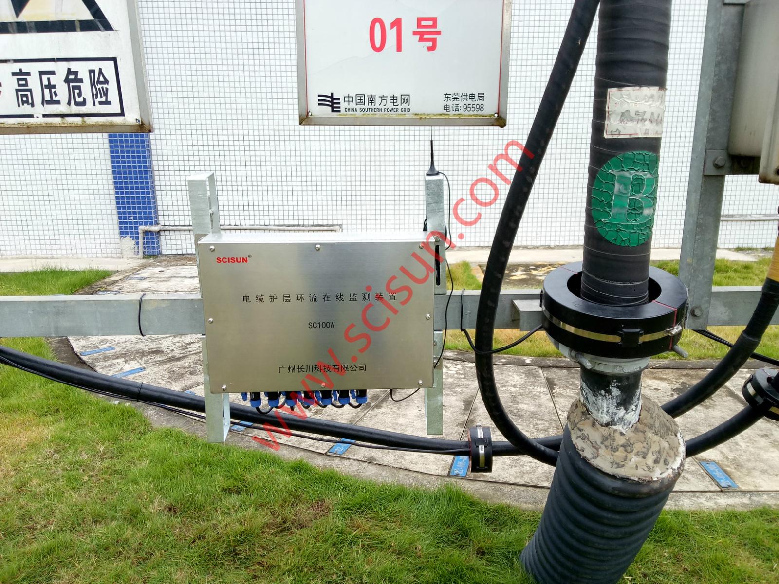 SC100型电缆护套环流在线综合监测装置