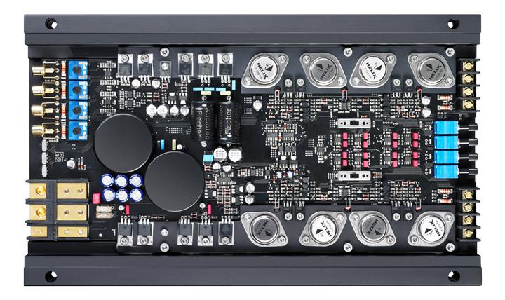 无与伦比的音质魅力!德国HELIX H 400X四声道功放