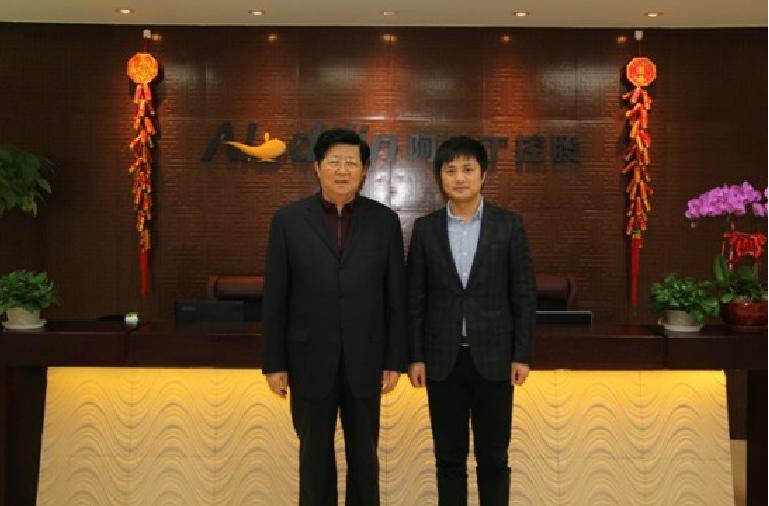 幸福人寿董事长、汇力基金董事长孟晓苏来访