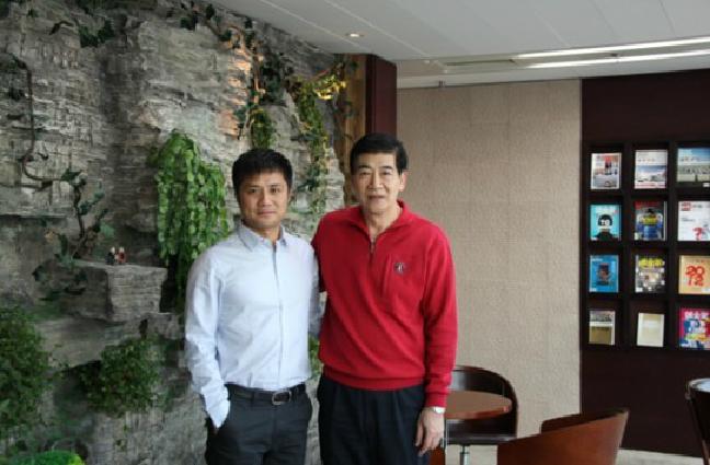 海航实业控股集团副董事长、海航易食股份董事长田力维来访