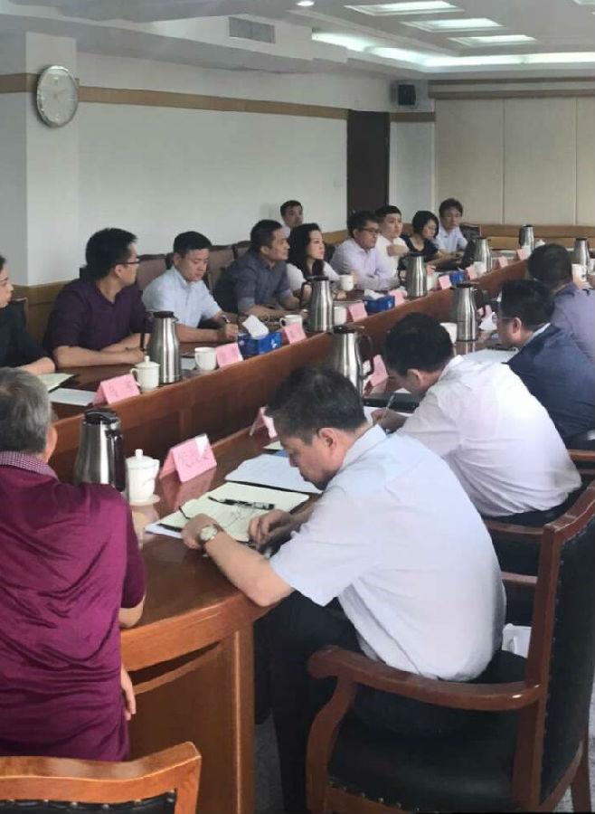 阿拉丁控股集团随考察团赴唐山市考察