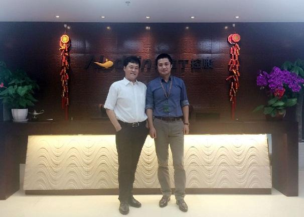 以色列IDE公司中国区负责人到访阿拉丁控股集团