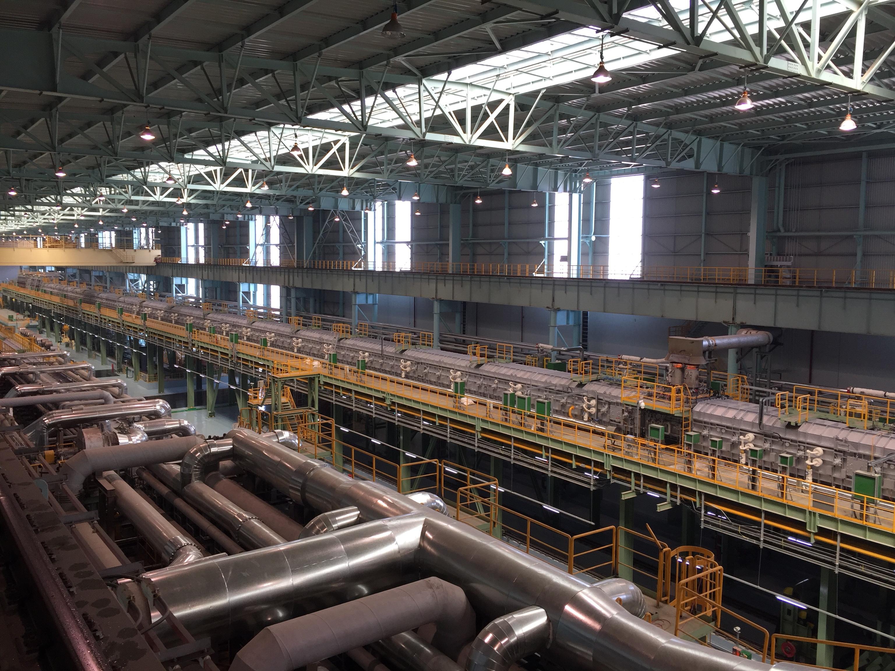 2018年 宝钢硅钢安装工程