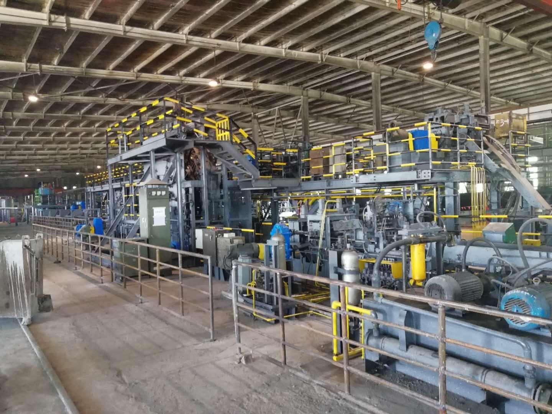 2017年 八一钢铁H型钢搬迁工程