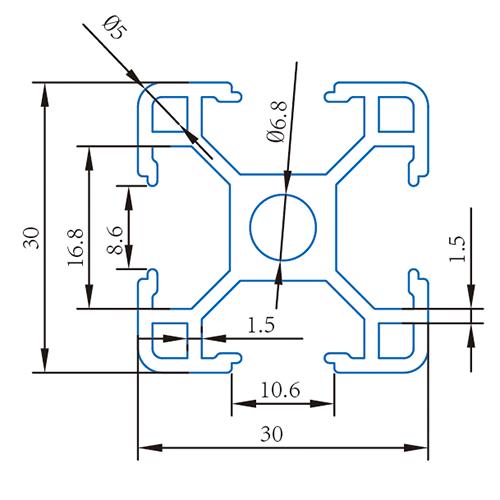 YJ-8-3030PC