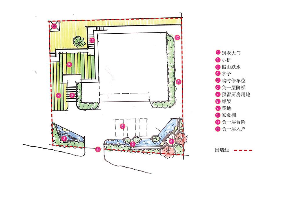 常德汉寿袁先生乡村花园设计回顾